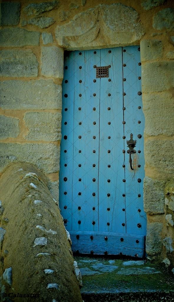 Bleu Drome 26 porte