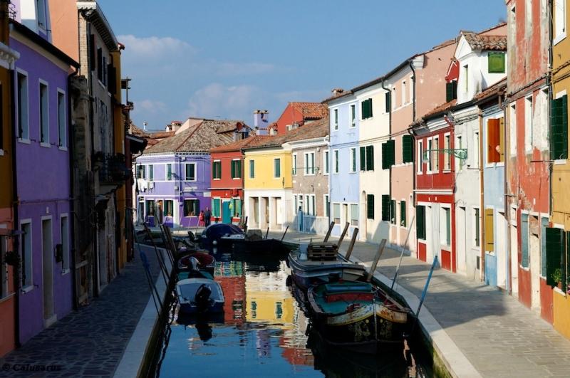 Burano couleurs Italie