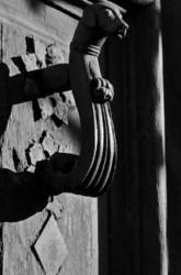 carpentras heurtoir N&B