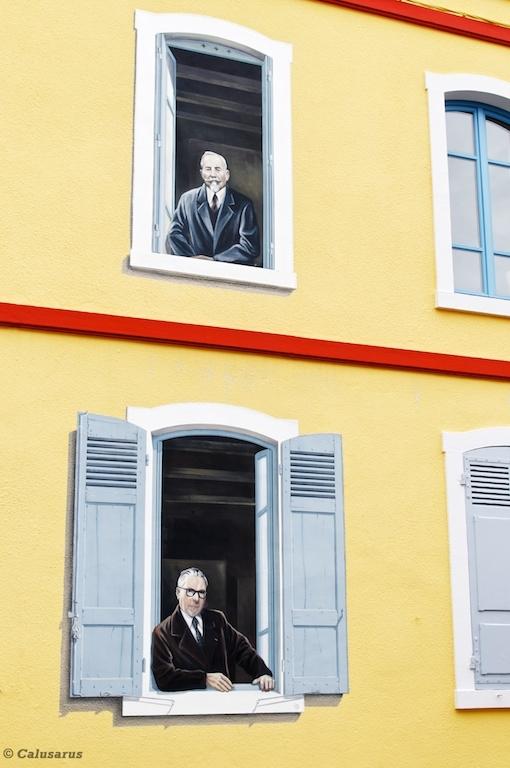 Mur Ain Trome-l'oeil