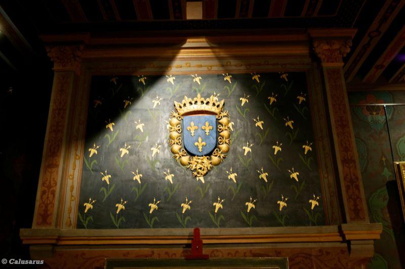 Blois Chateau Cheminée