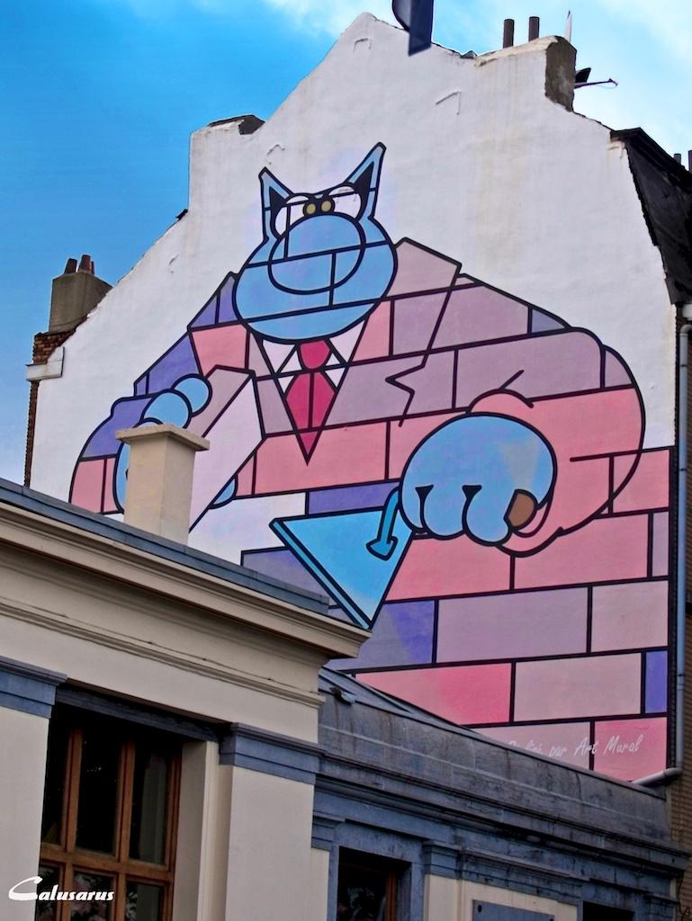 Bruxelles BD Chat