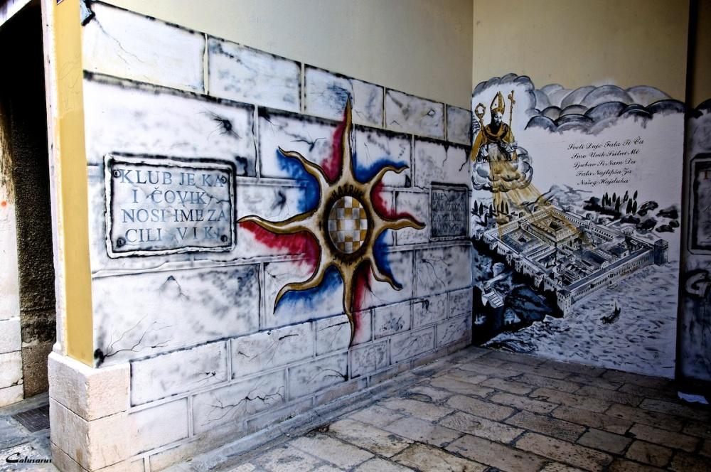 Graffiti split croatie
