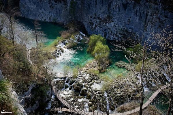 Croatie Plitvice lacs
