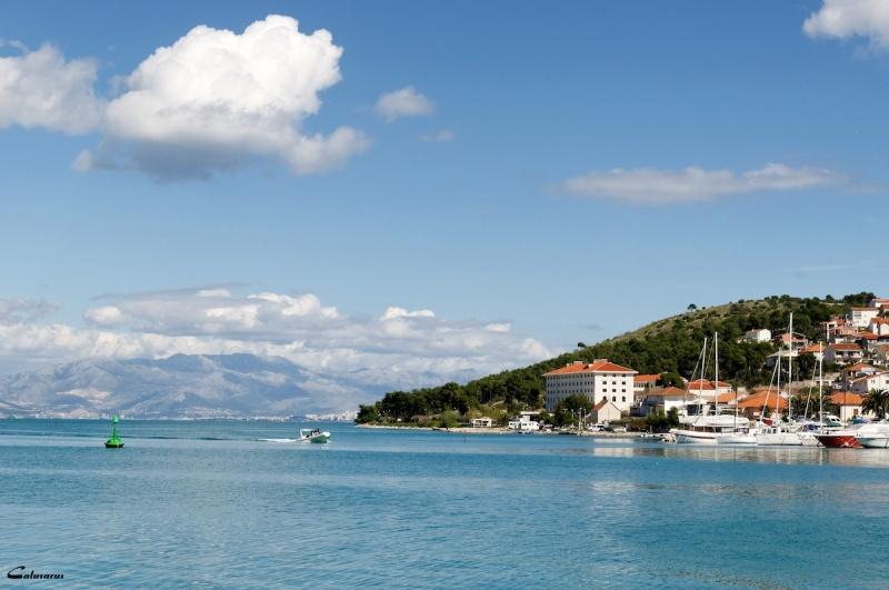 Croatie Trogir paysage