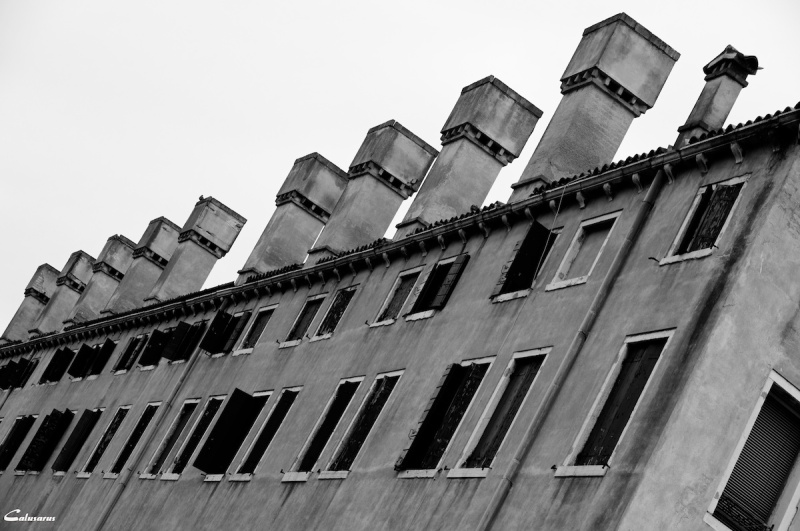 Venise Italie N&B Architecture