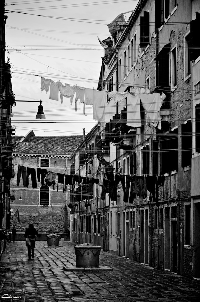 Venise Italie NB