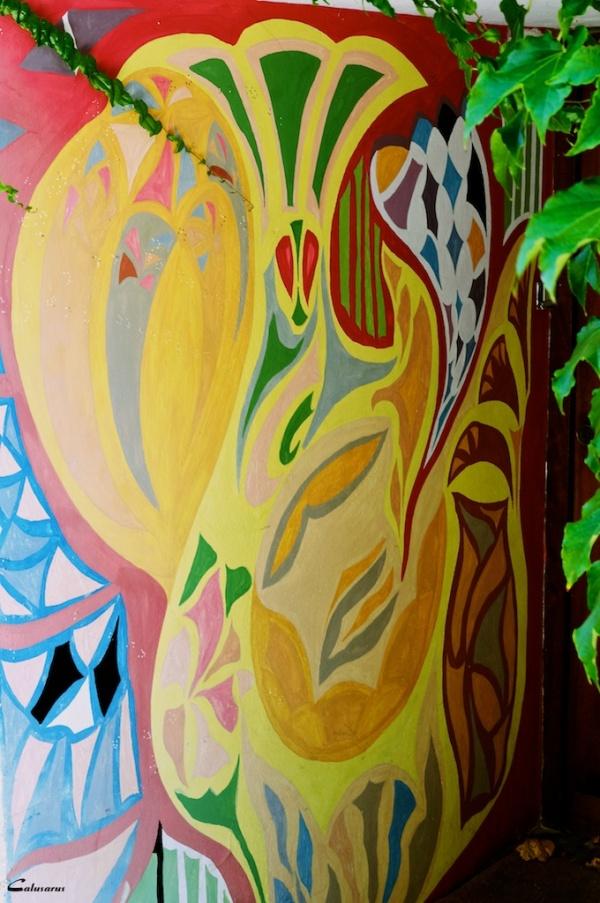 Rue graffiti Gard