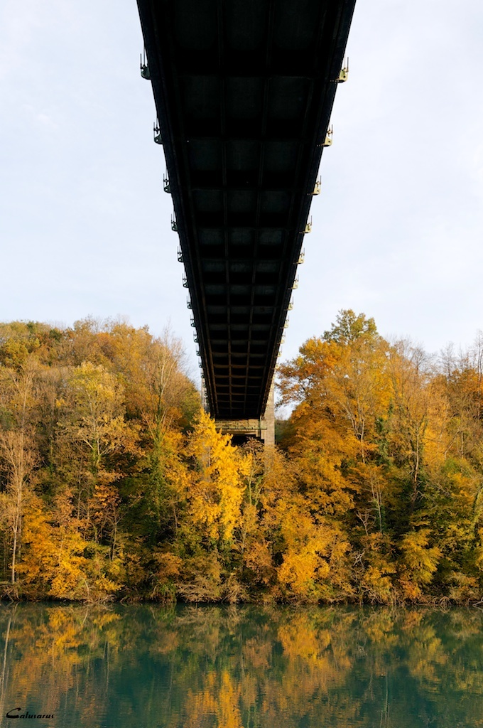 Paysage pont Isere