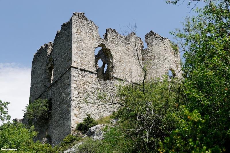 Drome 26 Soyans ruine