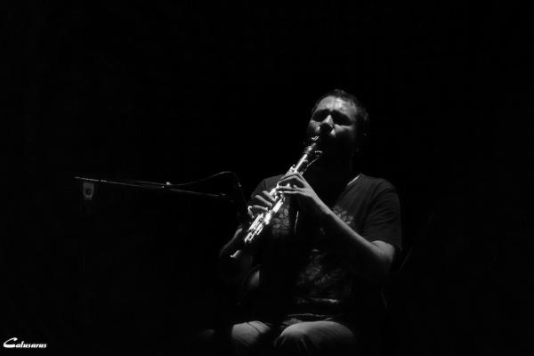 Valence concert nuit Drome 26 N&B