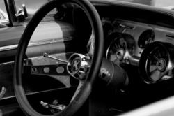 Automobile drome 26 bourg-de-peage N&B