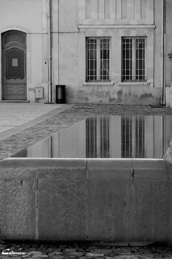 Reflet drome 26 N&B Valence