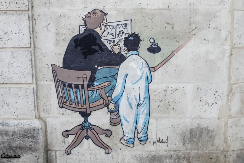 Angouleme BD fresque