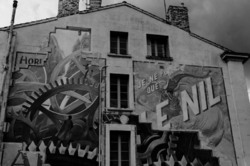 Angouleme BD fresque N&B