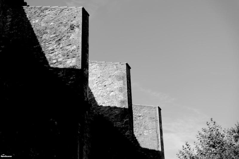 Arles Bouches-Du-Rhone N&B