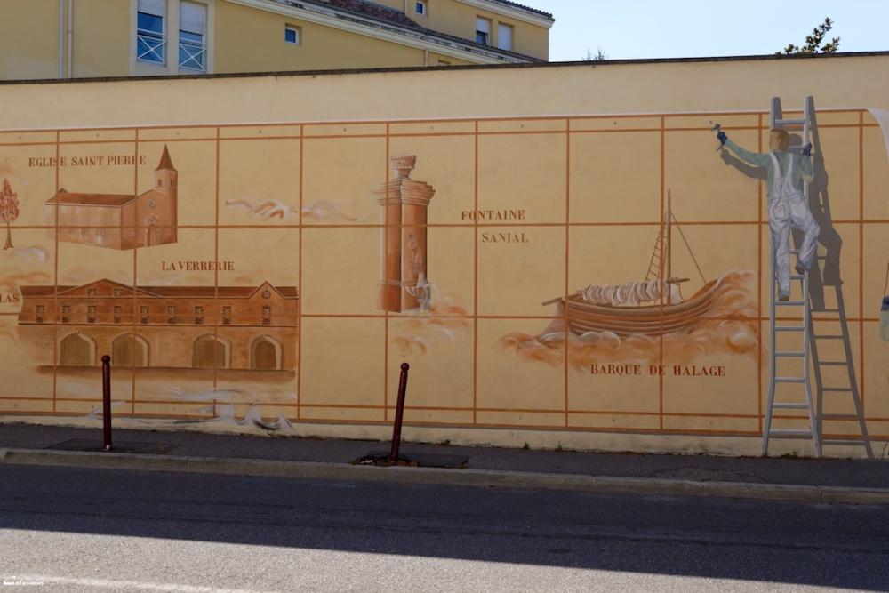 Trompe-l'oeil Drome 26 Bourg-Les-Valence