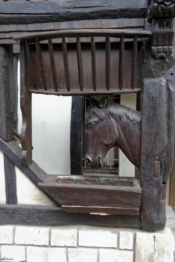 Normandie sculpture animal