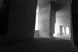 Architecture industriel bouches-du-rhone N&B