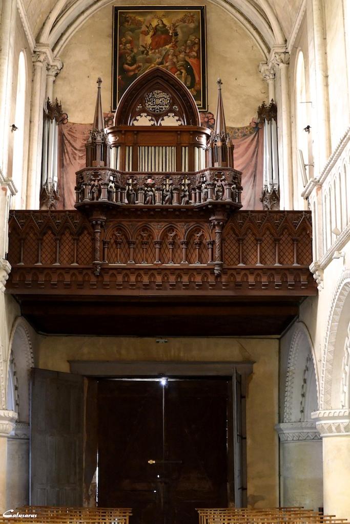 Eglise Eure orgue
