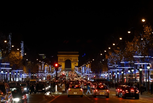 Paris nuit lumiere
