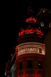 Paris nuit architecture
