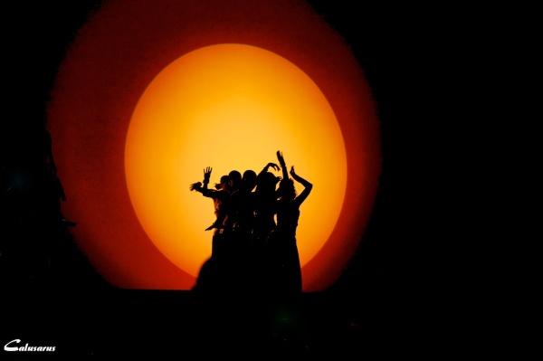 Lumiere silhouette drome 26 romans-sur-isere