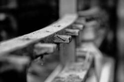 N&B industriel detail Isere