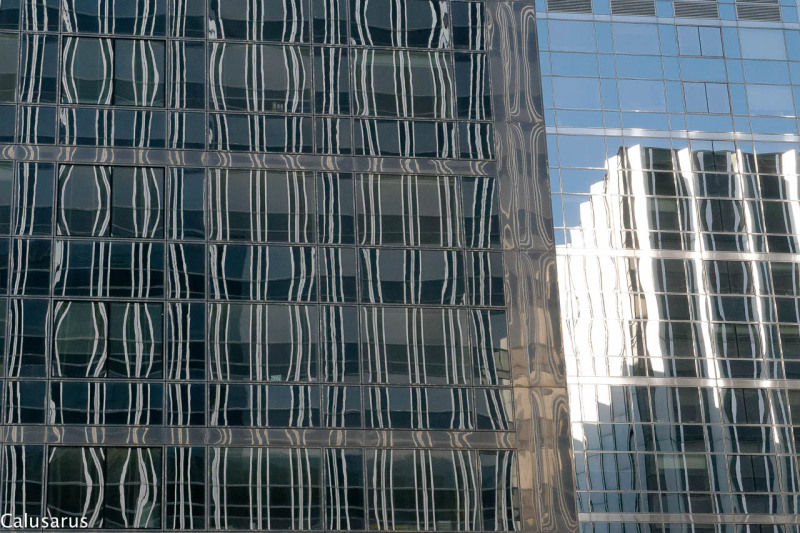 Reflet architecture paris fenetre