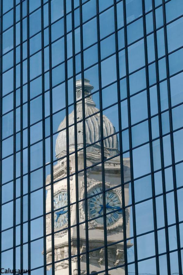 Paris reflet