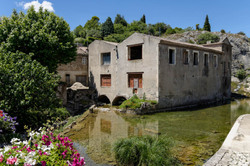 Paysage ardeche bourg-saint-andeol