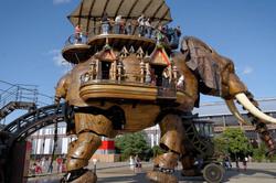 Nantes Elephant spectacle