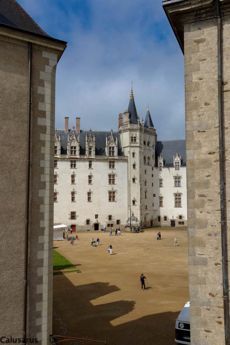 Chateau architecture Nantes