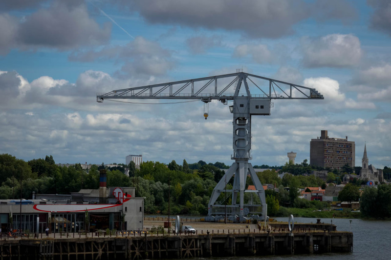 Industrie Nantes paysage