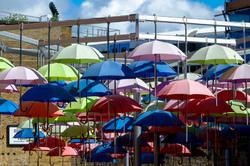 Parapluie couleurs Londres