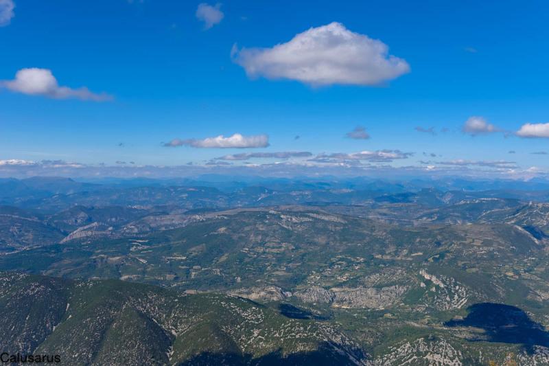 Paysage Vaucluse montagne
