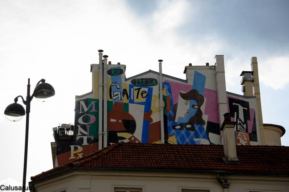 Paris peinture murale
