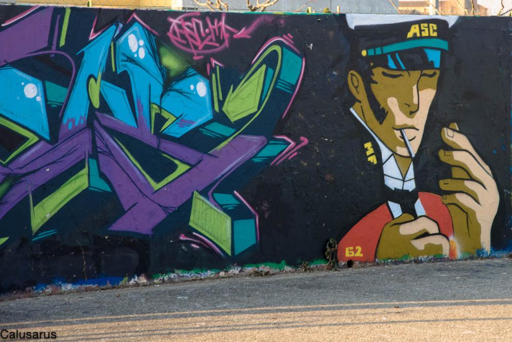 Drome 26 Alixan graffiiti
