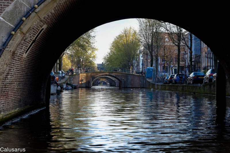 Canal pont amsterdam