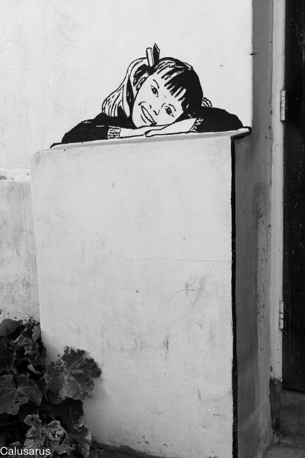 Graffiti N&B Amsterdam