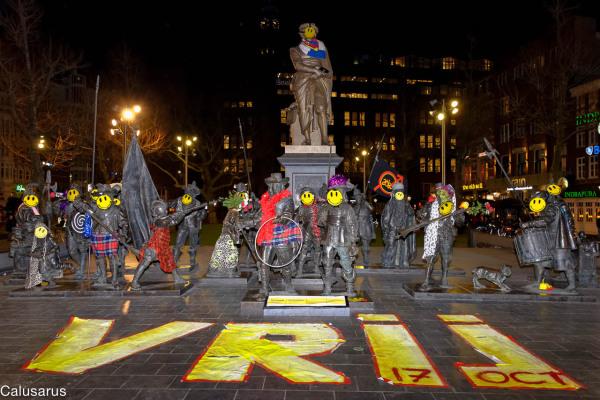 Amsterdam nuit art