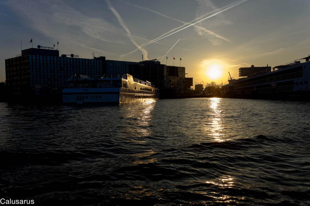 Paysage contrejour Amsterdam