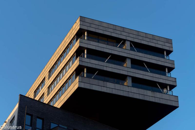 Immeuble ciel Amsterdam