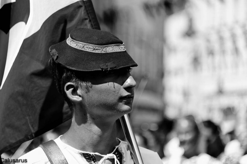 Portrait Homme Drome Romans sur Isère 26 N&B