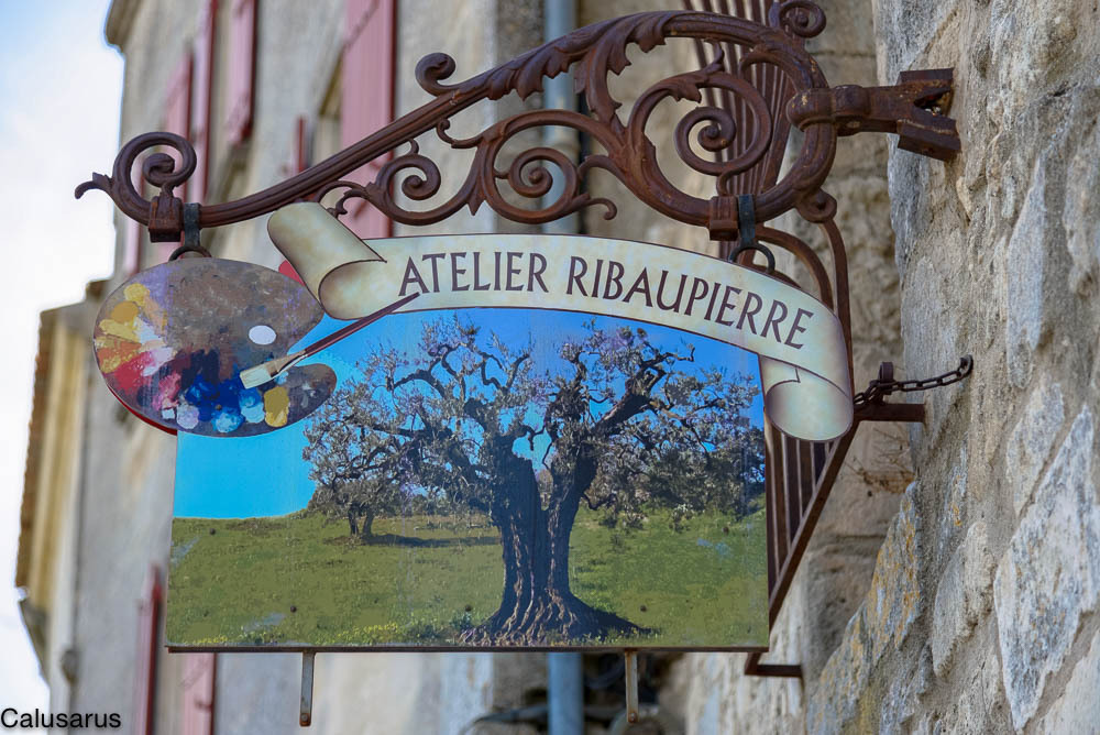 Enseigne Baux-De-Provence