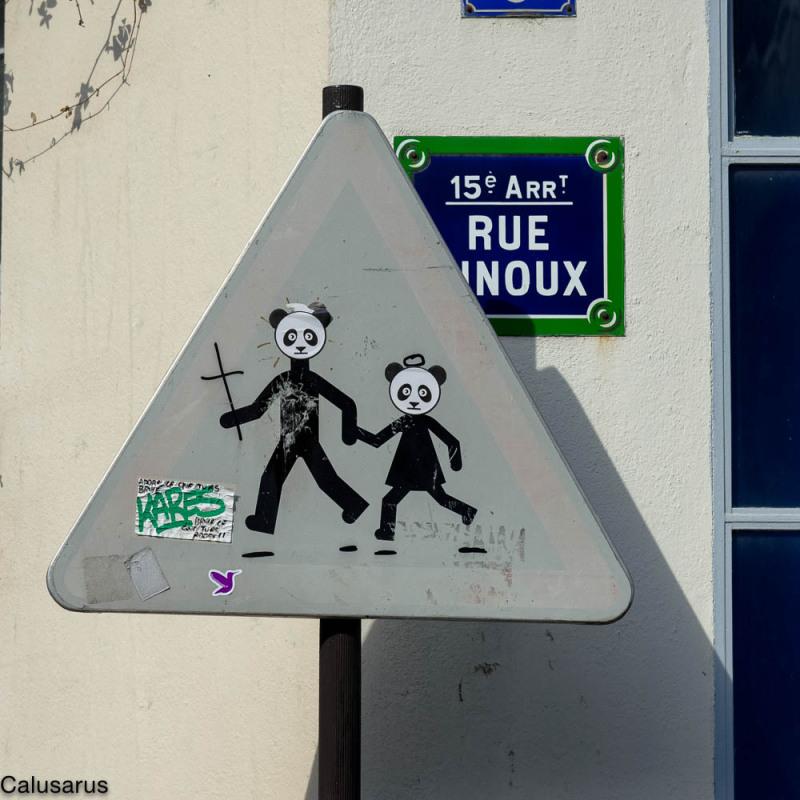 Pancarte Paris