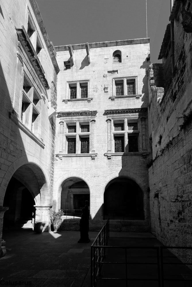 N&B Baux-de-Provence Architecture