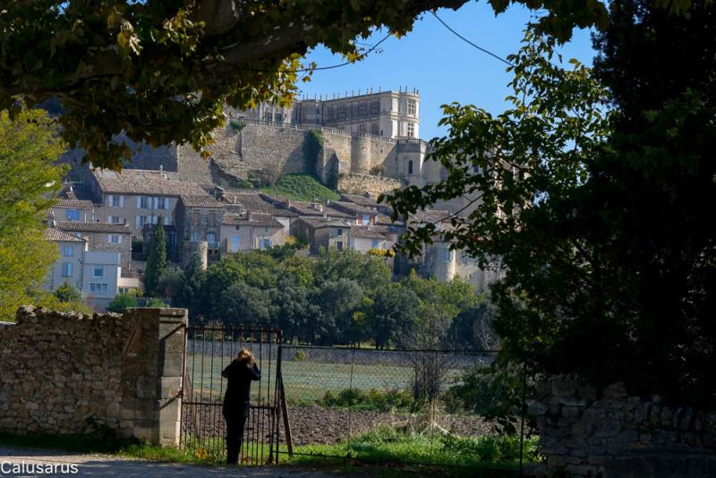 Paysage château Drome 26 Grignan