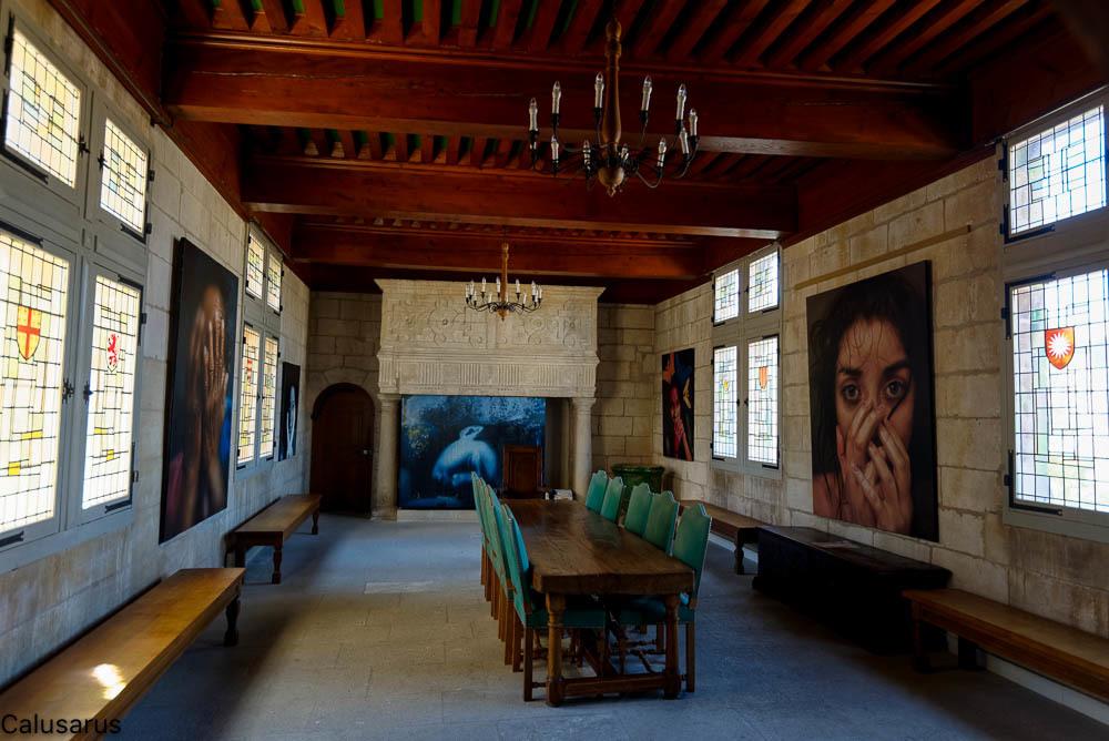 Intérieur beaux-arts Baux-de-provence