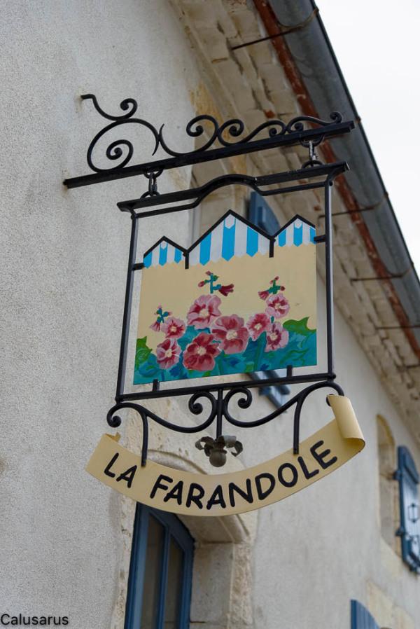 Enseigne Charentes-Mariimes